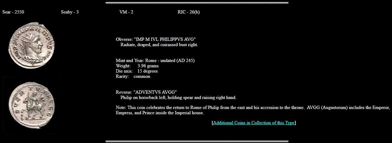 Antoniniano de Filipo I. ADVENTVS AVGG. Roma 0000