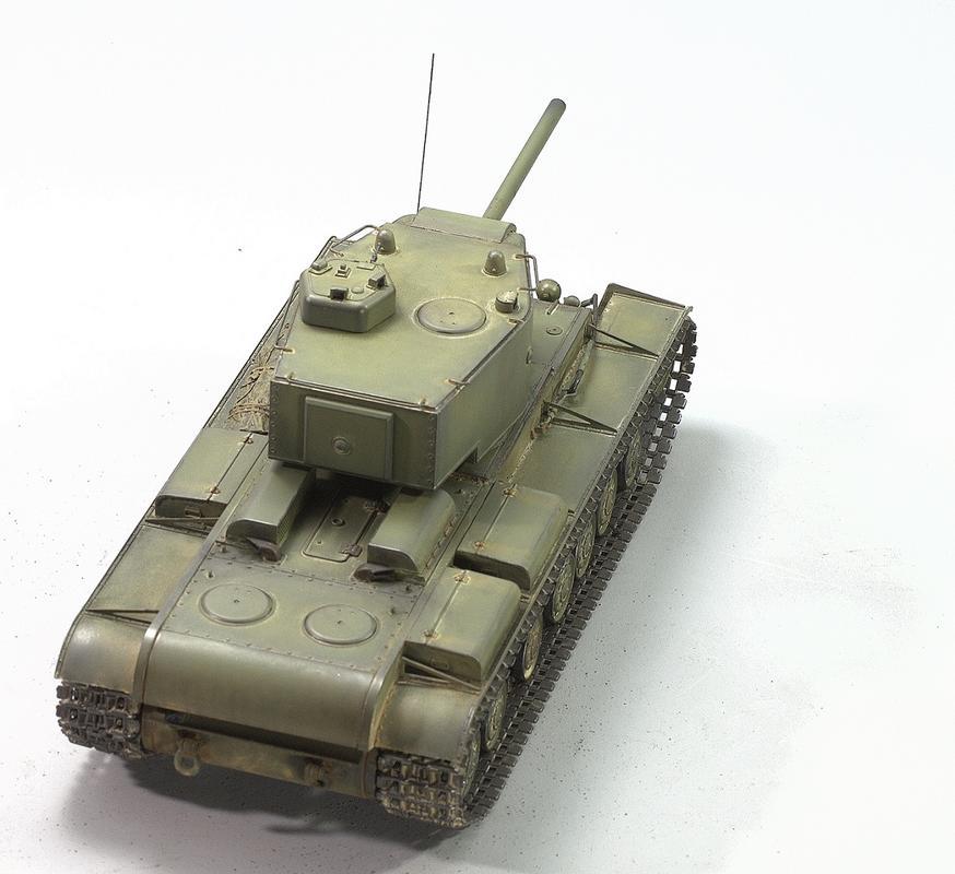 КВ-220. Трумпетер 1/35 Image
