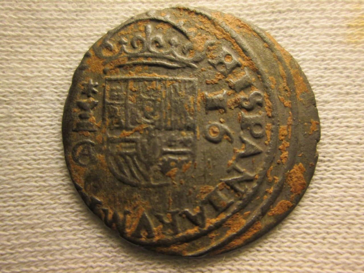 16 maravedís 166?. Felipe IV, Cuenca IMG_1121