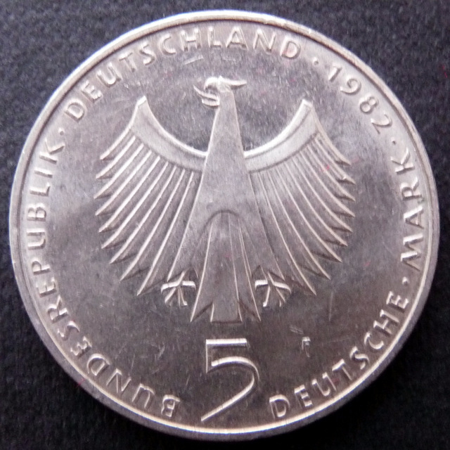 Alemania - 5 marcos - 1982 - Conferencia Medioambiental Naciones Unidas Alemania_5_Marcos_r