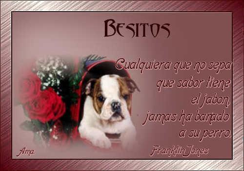 Vicente, mi Amigo Fiel Besitos