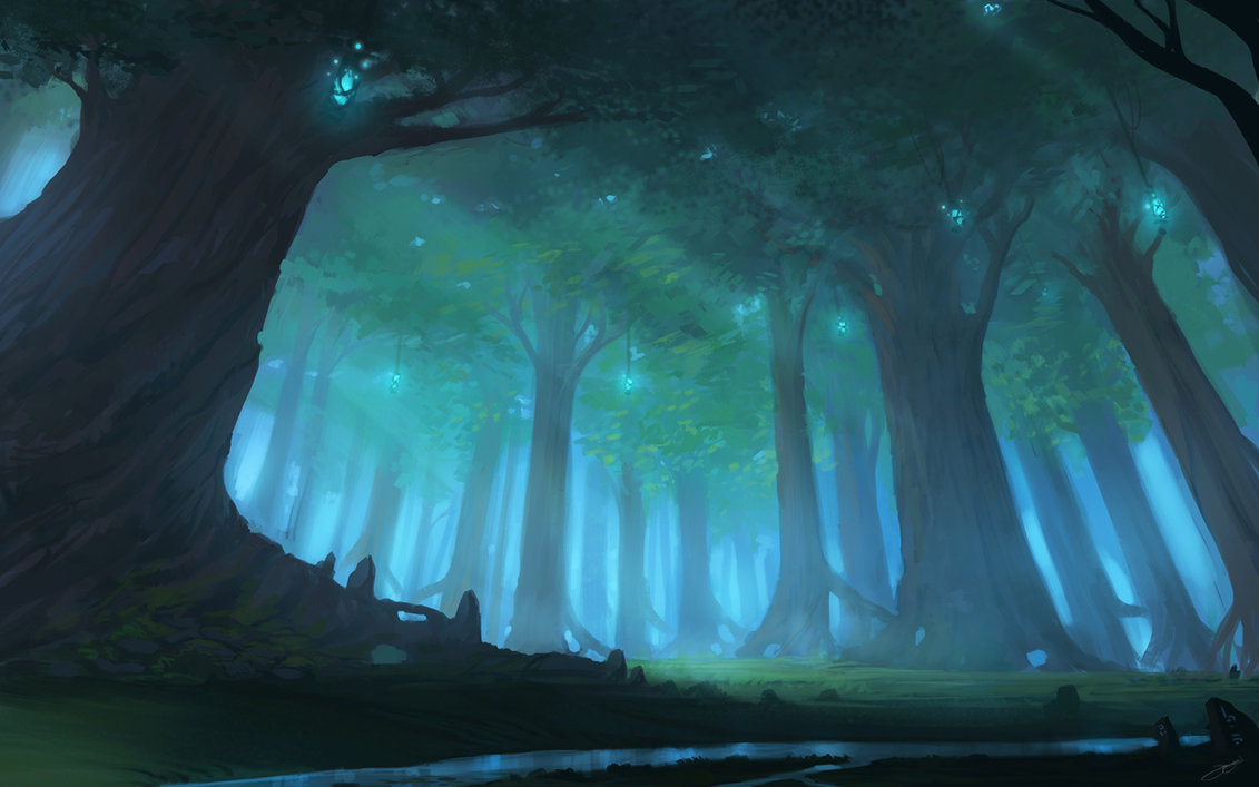 Project 4 Tourney A_forest_by_blinck_d4yepov