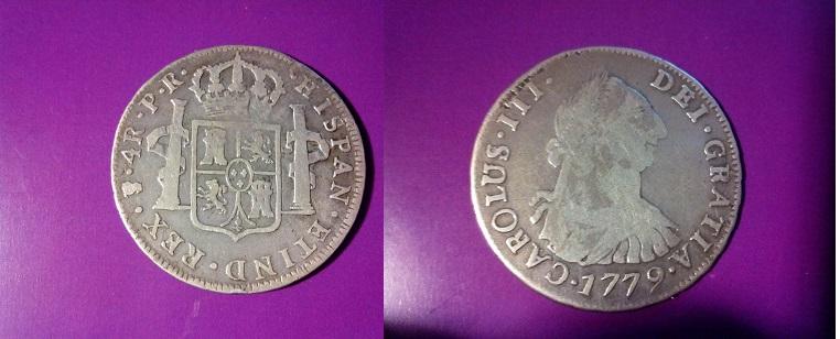 4 reales Carolus III, Potosí. 1779. IMG_20140412_161437