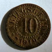 De necesidad y de guerra: monedas de la I Guerra Mundial Frankfurt-at-_Oder-a