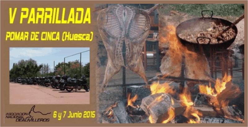 QUEDADA (ARA): V Parrillada de Pomar. 06 Junio 2015 Pomar