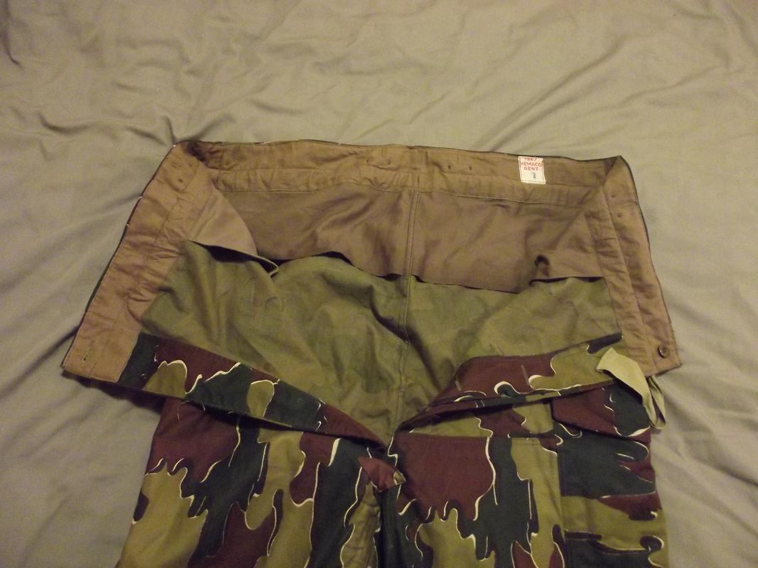 Jigsaw trousers 1967  No arm of service  DSCF5592
