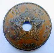 Estado libre del Congo 10_cts-1888-a