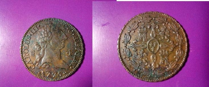 4 Maravedís CAROLUS III, Segovia. 1775 IMG_20140422_155622