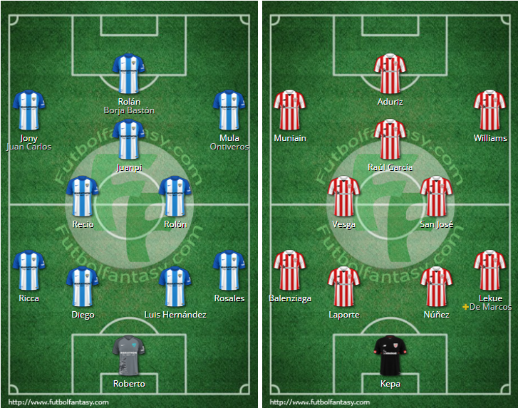 LIGA J6ª: MALAGA CF vs ATHLETIC CLUB (Sab 23 Sep 18:30 / BeinSport) MCF_ONCES
