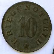 De necesidad y de guerra: monedas de la I Guerra Mundial Luetzen-a