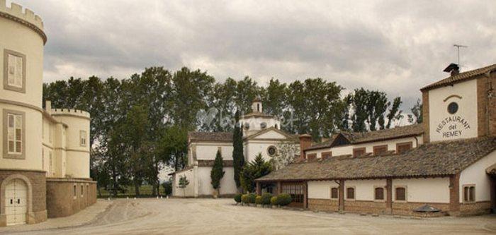 QUEDADA (CAT): Castillo del Remei. 23 Noviembre 2014 Remei03