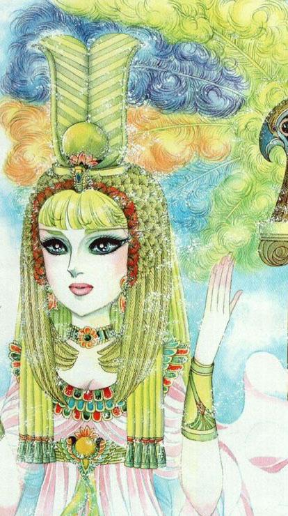 Hình màu Carol trong bộ cô gái sông Nile (Ouke Monshou) - Page 5 Carol_408