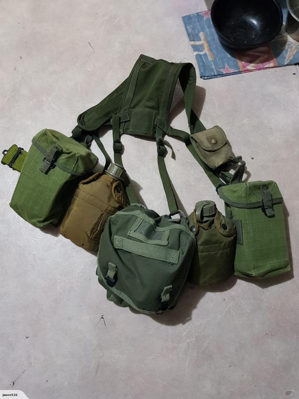 NZ Webbing '70s - '90s Canvas_Pouches