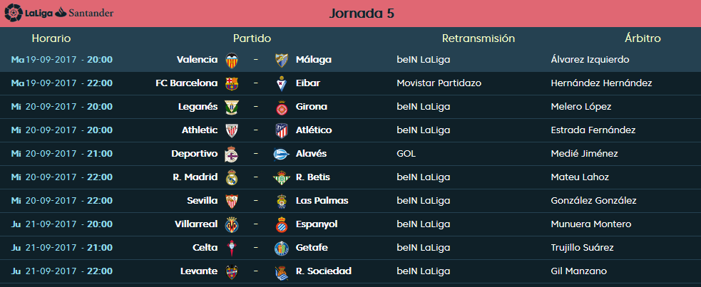 LIGA J5ª: VALENCIA CF vs MALAGA CF (Mar 19 Sep 20:00 / BeinSport) MCF_PARTIDO_3