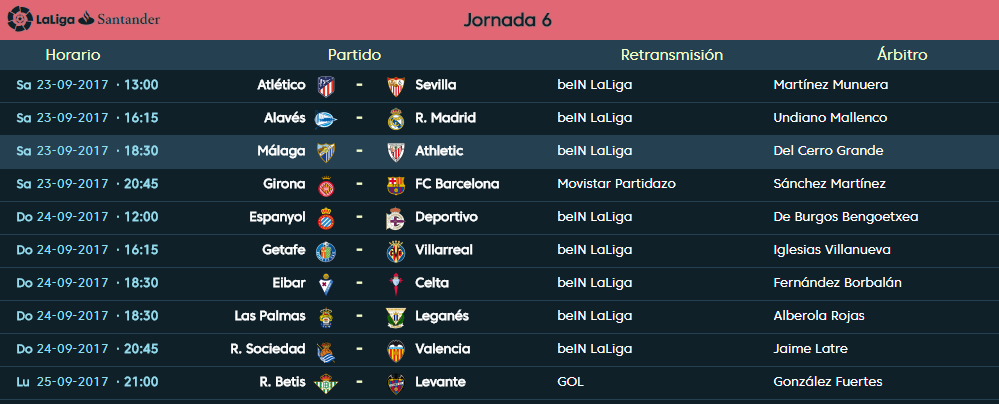 LIGA J6ª: MALAGA CF vs ATHLETIC CLUB (Sab 23 Sep 18:30 / BeinSport) MCF_B