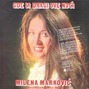 Milena Markovic - Diskografija  Milena_Markovic_1982-1_z