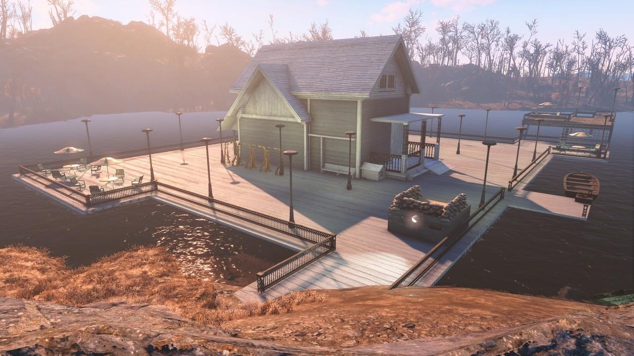 [MOD Fallout Forever] Lake House (Terminado) Extdia