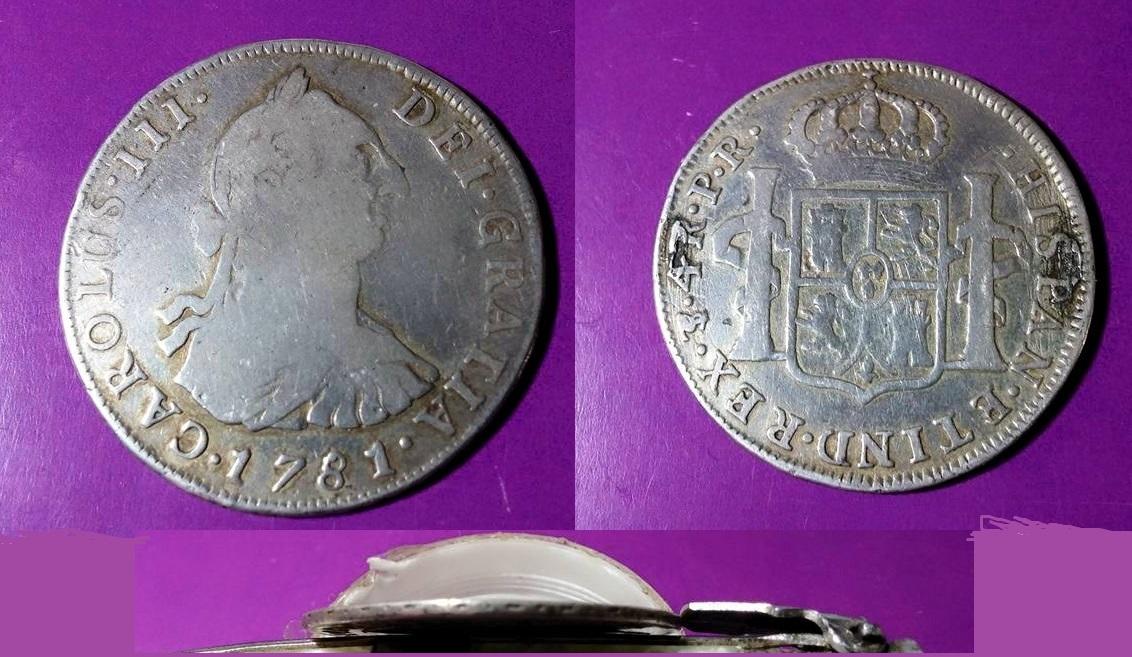 4 reales 1781. Carlos III. Potosí Cara_4_r_1781