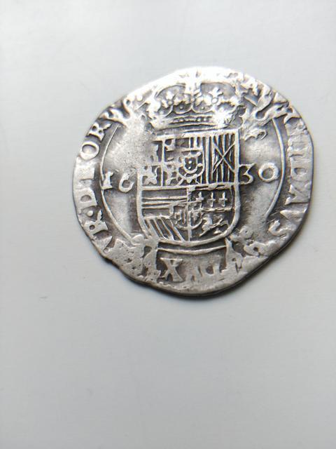 escarlin de Felipe IV ceca Tournai Image