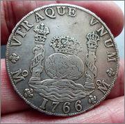 8 reales 1766. Carlos III. México. Dedicada a flekyangel y a Lanzarote 1766_Mo_CIII_rm