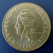 Polinesia francesa - 100 francos - 1976 100_francos-1976-r