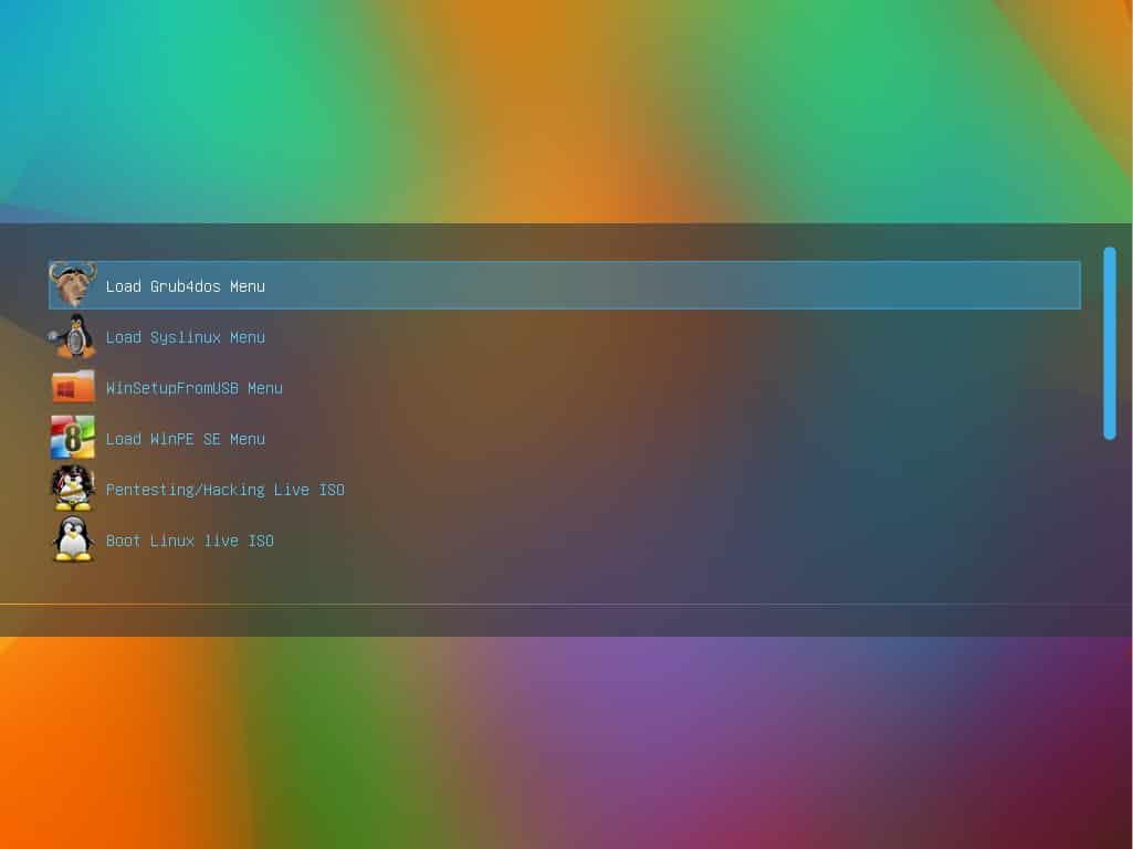 Windows] Multiboot USB Flash Drive for UEFI/Legacy Mode