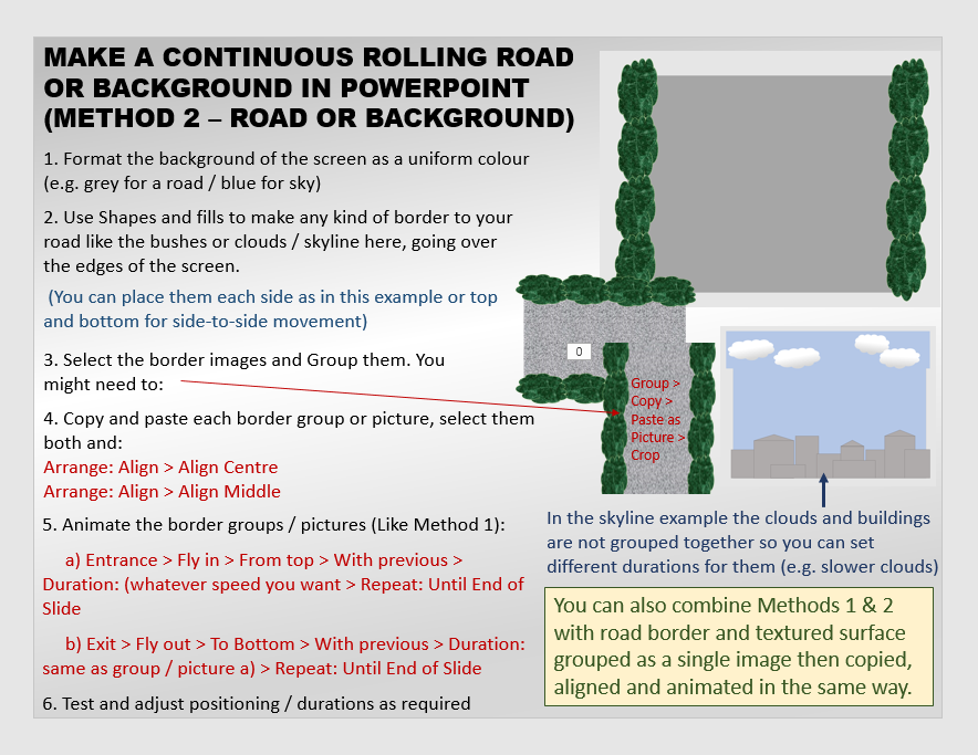 MAKE A ROLLING ROAD / BACKGROUND Rolling_Road_Tutorial_2