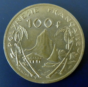 Polinesia francesa - 100 francos - 1976 100_francos-1976-a