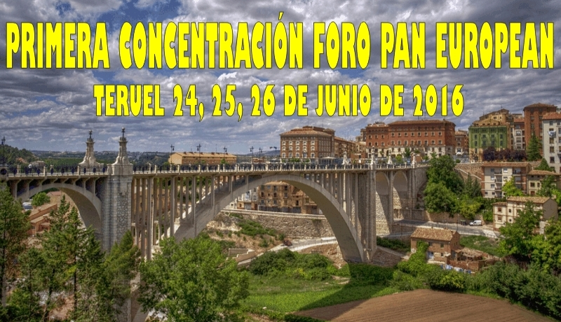 1ª CONCENTRACION FORO PAN-EUROPEAN 2016 (FOTOS Y VIDEOS) Viaducto
