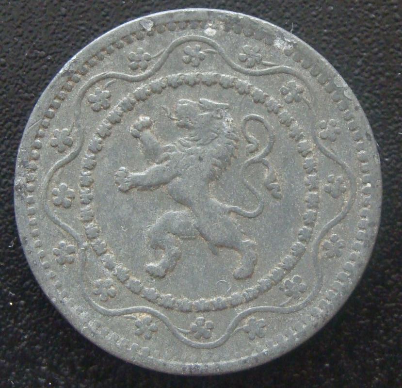 10 Céntimos de Franco. Bélgica (1915) BEL._10_C_ntimos_Franco_1915_-_anv