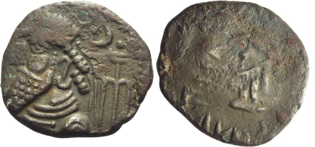 Tetradracma de Kamnaskires VI o sucesor incierto a Kamnaskires V Tetra_elymais
