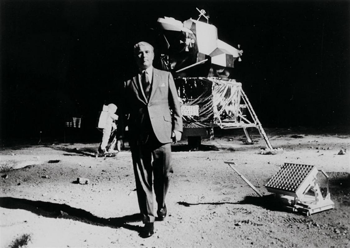 Die Mondlandung als Western Lempertz-1031-39-_Photography-_NASA-_Dr-_Wernher-von