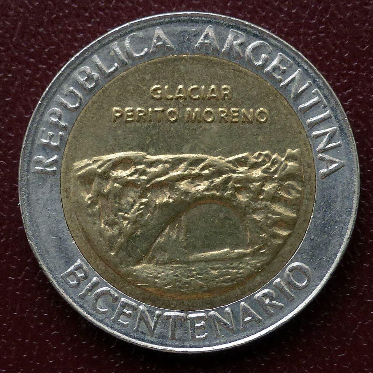 Argentina - Serie 1 peso - Bicentenario 1dr