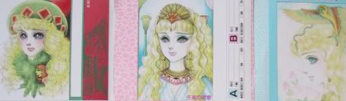 Hình màu Carol trong bộ cô gái sông Nile (Ouke Monshou) - Page 5 Carol_458