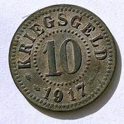 De necesidad y de guerra: monedas de la I Guerra Mundial Frankfurt-_Oder-a