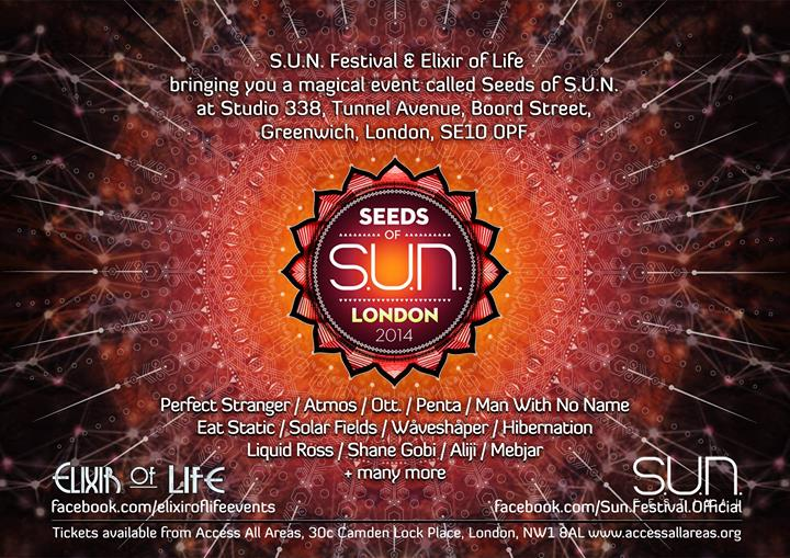 "S.U.N Festival and Elixir of Life presents  ""Seed of S.U.N""  1557157_579498552132864_2053199999_o"