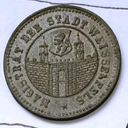 De necesidad y de guerra: monedas de la I Guerra Mundial Weissenfels-r