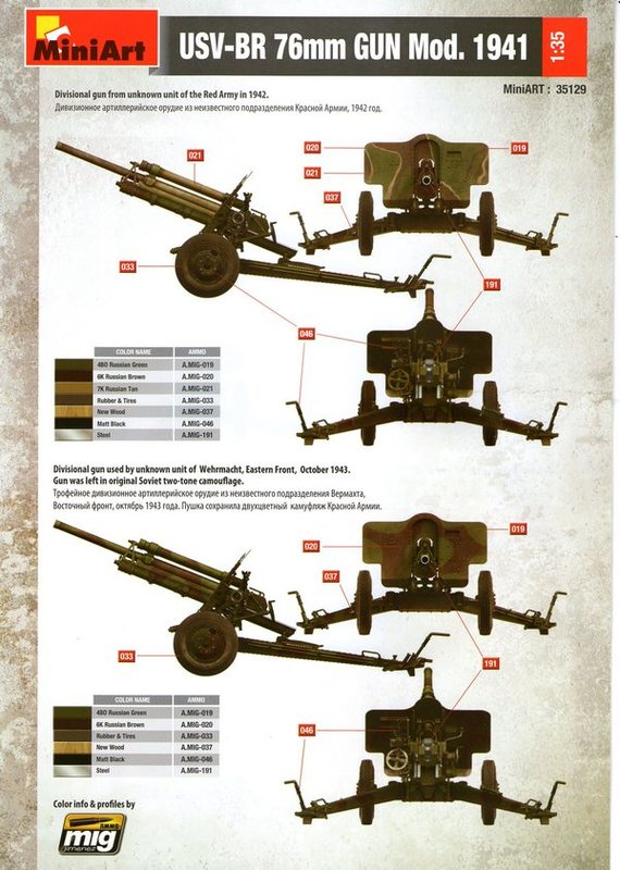 СОВЕТСКАЯ ПУШКА УСВ-БР 76-мм Обр. 1941г. MiniArt 1/35 Img012
