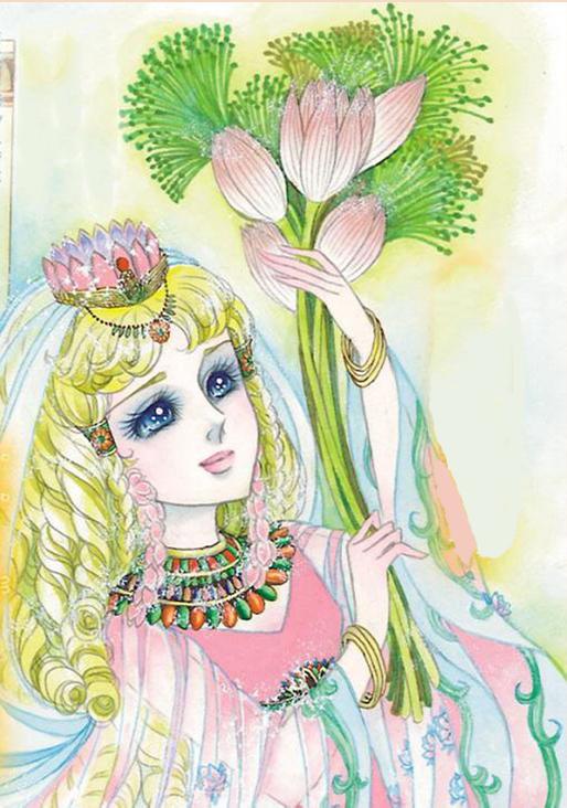 Hình màu Carol trong bộ cô gái sông Nile (Ouke Monshou) - Page 2 Carol_158