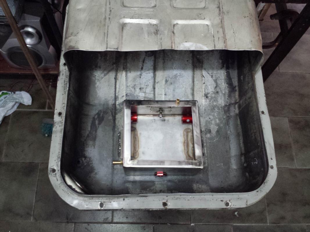 Bomba Eletrica Dentro do Tanque (Bomba Marca Euro é RUIM) 20160828_145603