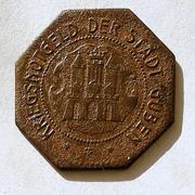 De necesidad y de guerra: monedas de la I Guerra Mundial Guben-r