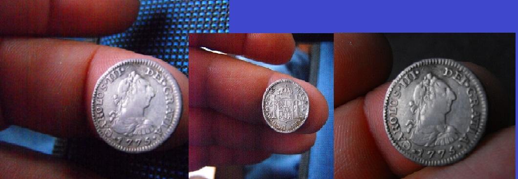 1 real carolus III 1775. México. 12_1