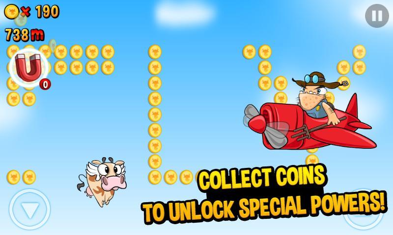 Run Cow Run v1.55 [Unlimited Money] Image