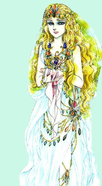 Hình màu Carol trong bộ cô gái sông Nile (Ouke Monshou) - Page 2 Carol_143