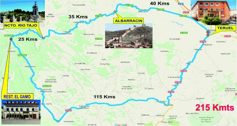 1ª CONCENTRACION FORO PAN-EUROPEAN 2016 (INFORMACION Y RESERVAS) 1_Ruta1