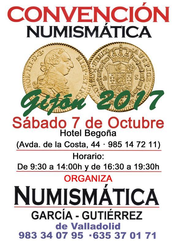 Convencion Numismática Gijón 2017, Sábado 7 de Octubre. Crt17