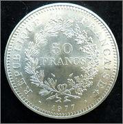 """Francia - 50 francos """"Hércules"""" - 1977 Francia_50_francos_1977a"""