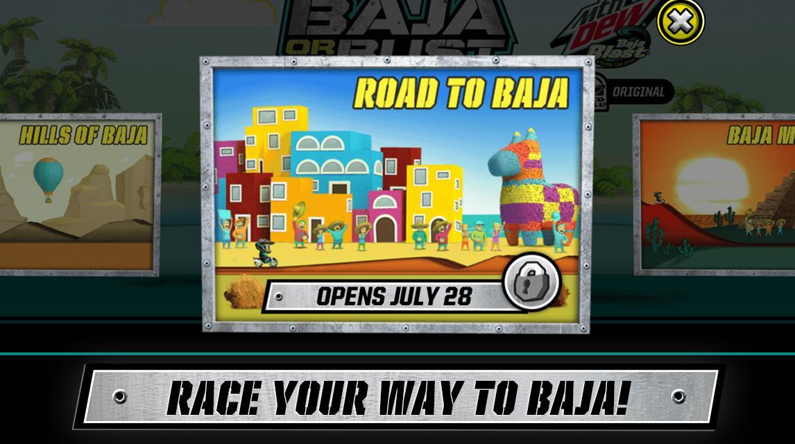 Baja or Bust by DEW & MX Elite v1.04 [Unlimited Points] Image