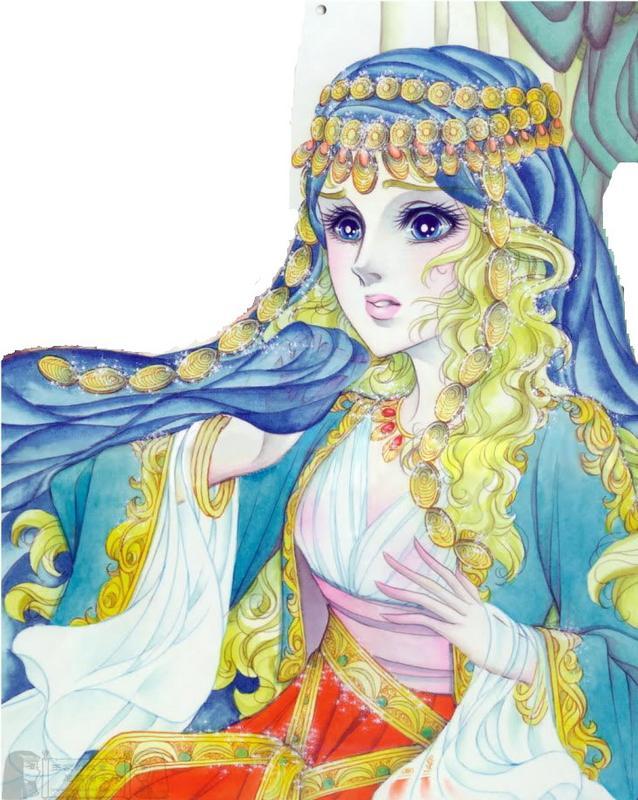 Hình màu Carol trong bộ cô gái sông Nile (Ouke Monshou) - Page 5 Carol_461