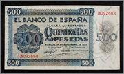 500 Pesetas 1936 500